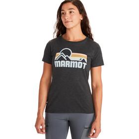 Marmot Coastal T-shirt Femme, new charcoal heather